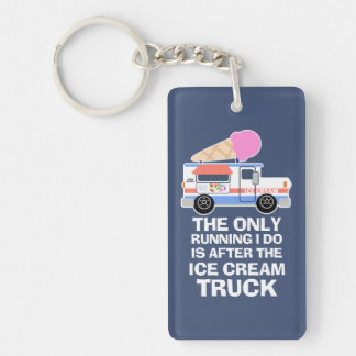 Ice Cream Truck Workout Key Ring