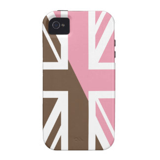 ice-cream Union Jack British(UK) Flag Case-Mate iPhone 4 Covers
