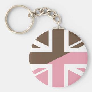 ice-cream Union Jack British(UK) Flag Keychains