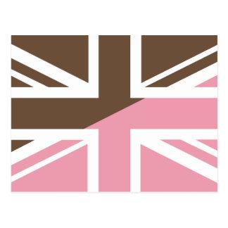 ice-cream Union Jack British(UK) Flag Postcard