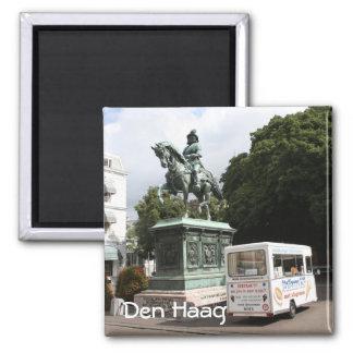 Ice cream vendor and statue magnet