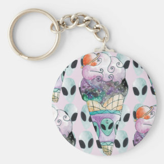 ice cream with foreign fund key ring