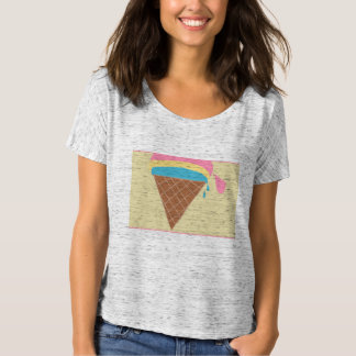 Ice cream women's slouchy tshirt