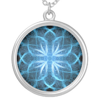 Ice Cross  - Fractal Necklace