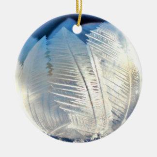 Ice Crystal Bubble Christmas Ornament