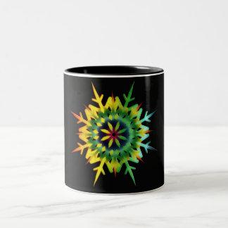 Ice Crystal Color Coffee Mugs