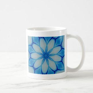 Ice crystal design coffee mugs