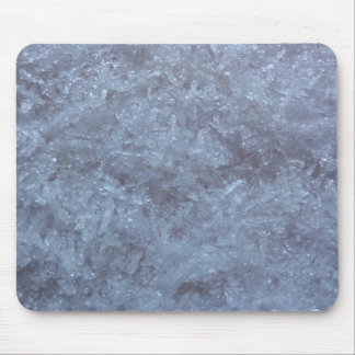 Ice Crystal Mouse Pad