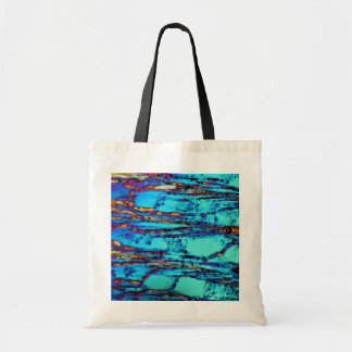 Ice crystals tote bags