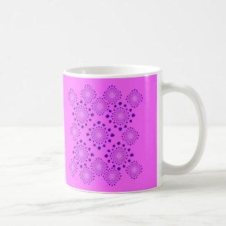 Ice Crystals Basic White Mug