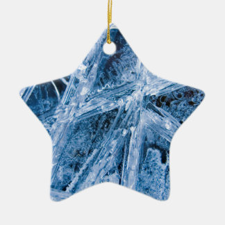 Ice Crystals Ornament