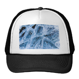 Ice Crystals Mesh Hat