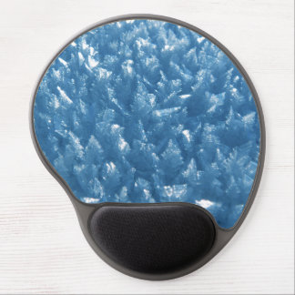 Ice Crystals in Blue Gel Mouse Pad