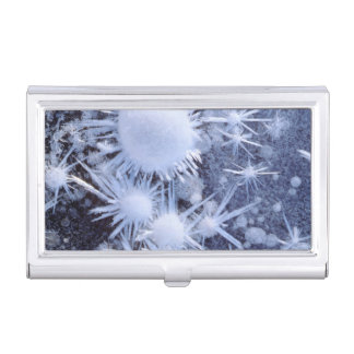 Ice crystals in the Sierra Case For Business Cards
