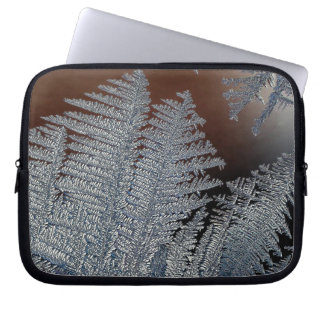 Ice crystals computer sleeves