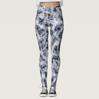 Ice Crystals Leggings