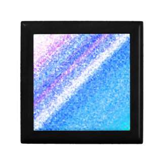 Ice Crystals Small Square Gift Box