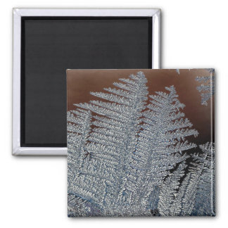 Ice crystals square magnet