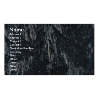 Ice crystals texture business card templates