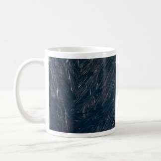 Ice crystals texture mugs