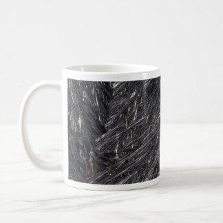 Ice crystals texture mug