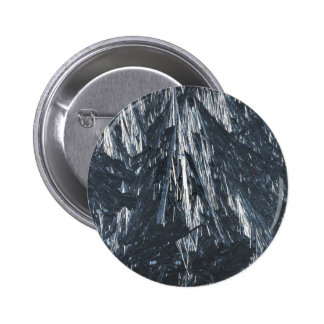 Ice crystals texture pinback button