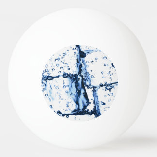 Ice Cube Ping Pong Ball