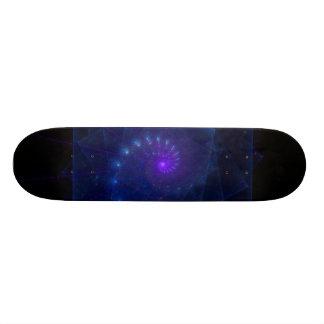 """""""Ice Cube Spirit"""" Fractal Art Skate Board Deck"""