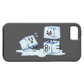 ice cubes icy cube water slipping stack melt cold case for the iPhone 5