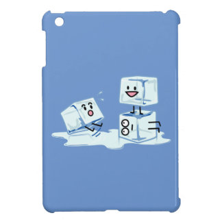 ice cubes icy cube water slipping stack melt cold iPad mini cover