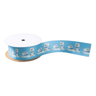 ice cubes icy cube water slipping stack melt cold satin ribbon