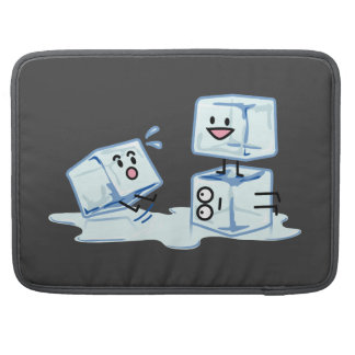 ice cubes icy cube water slipping stack melt cold sleeves for MacBooks