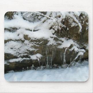 Ice Cycles Rock-Mousepad