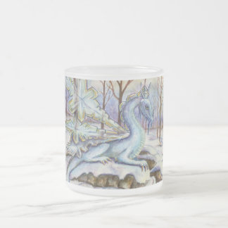 Ice Dragon frosted mug