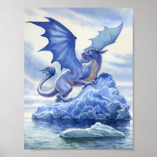 Ice Dragon Mini Poster