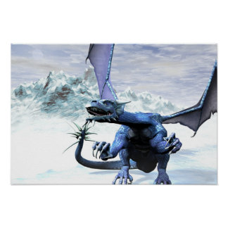 Ice Dragon Posters