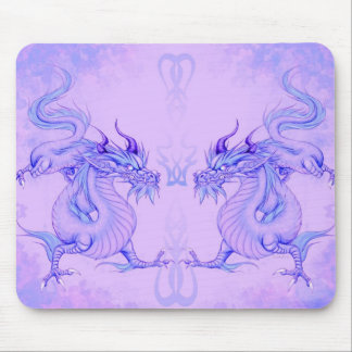 Ice dragons mousepad