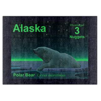 Ice Edge Polar Bear Cutting Boards