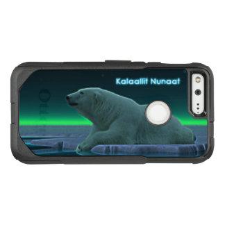 Ice Edge Polar Bear - Greenland OtterBox Commuter Google Pixel Case