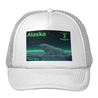 Ice Edge Polar Bear Mesh Hat
