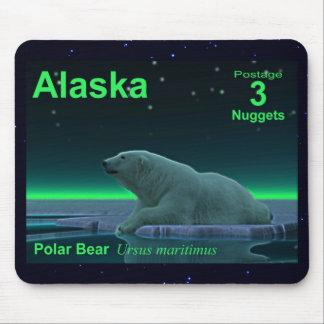 Ice Edge Polar Bear Mousepad
