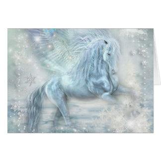 Ice Fantasy Pegasus Card