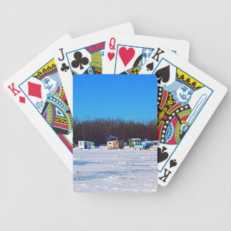 Ice Fishing collection Bicycle Playing Cards
