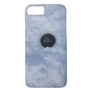 Ice Fishing Hole iPhone 8/7 Case