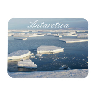 Ice Floes at McMurdo Sound, Antarctica Magnet