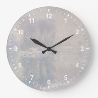 Ice Floes Large Clock