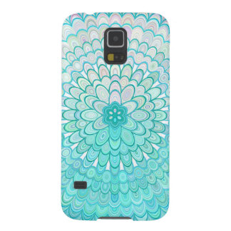 Ice Flower Mandala Case For Galaxy S5