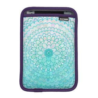 Ice Flower Mandala iPad Mini Sleeve