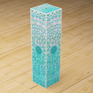 Ice Flower Mandala Wine Gift Box