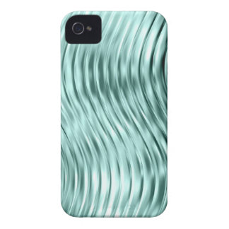 Ice Green Curved Glass Print iPhone 4 Case-Mate Case-Mate iPhone 4 Cases